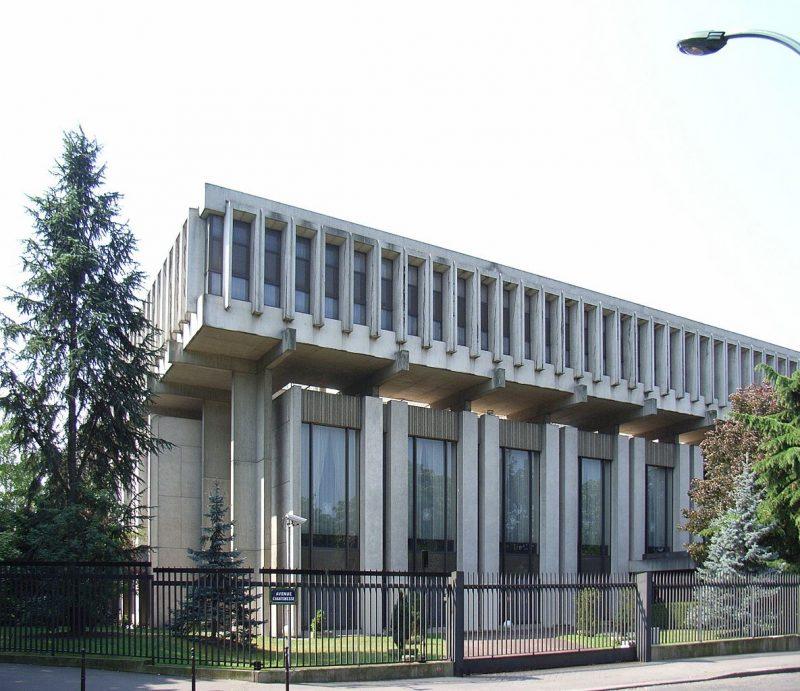 ambassade russie en france